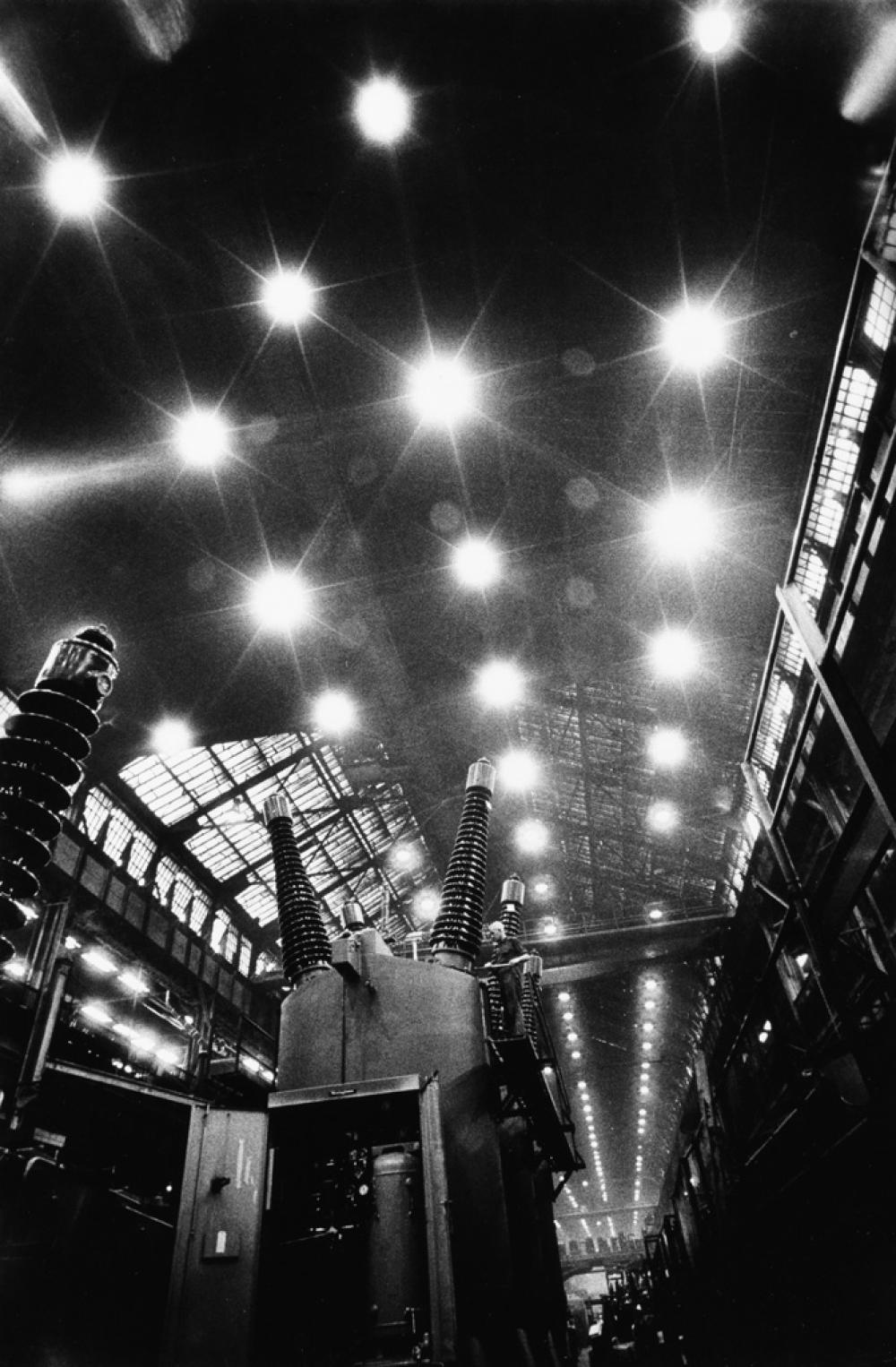 W. EUGENE SMITH (1918-1978) Pittsburgh, Industrial Plant Interior.
