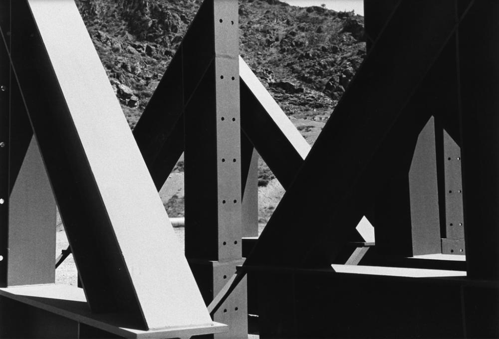 RALSTON CRAWFORD (1906-1978) Bridge * Buffalo Grain Elevator.