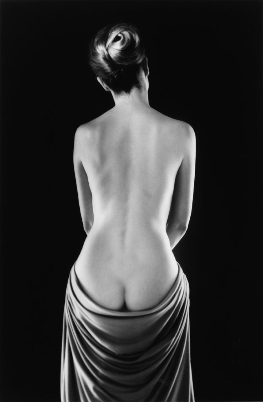 RUTH BERNHARD (1905-2006) Draped Torso.