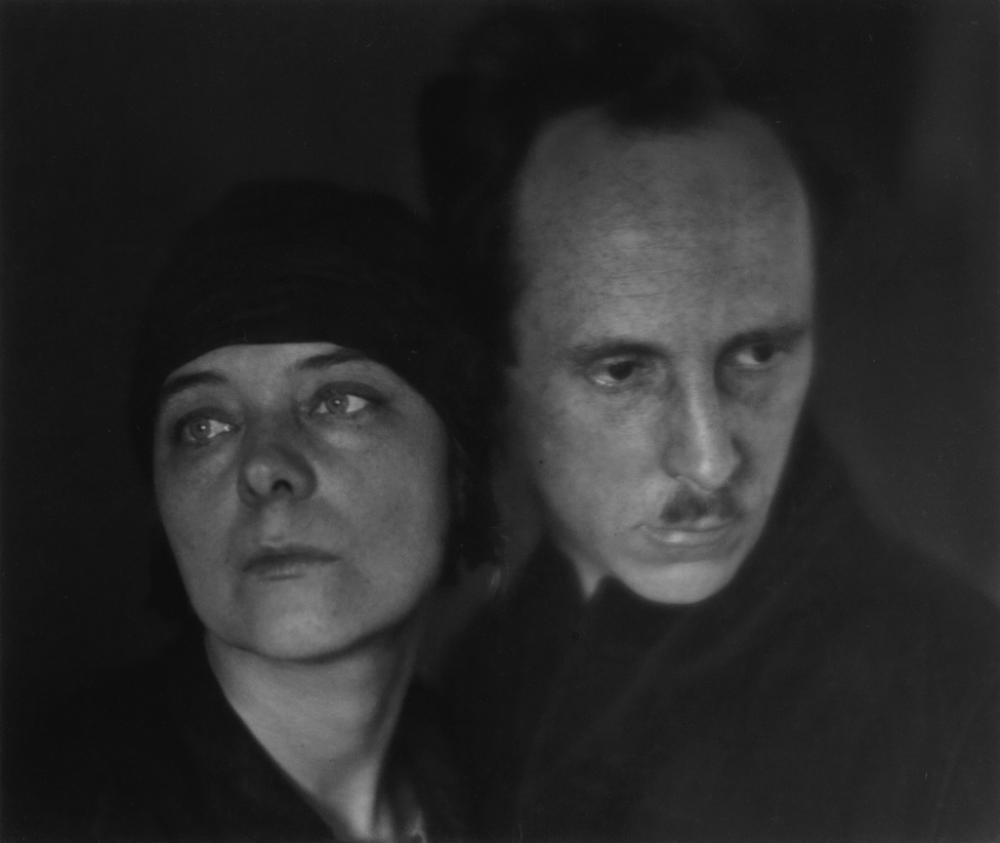 IMOGEN CUNNINGHAM (1883-1976) Edward Weston and Marguerite Mather.