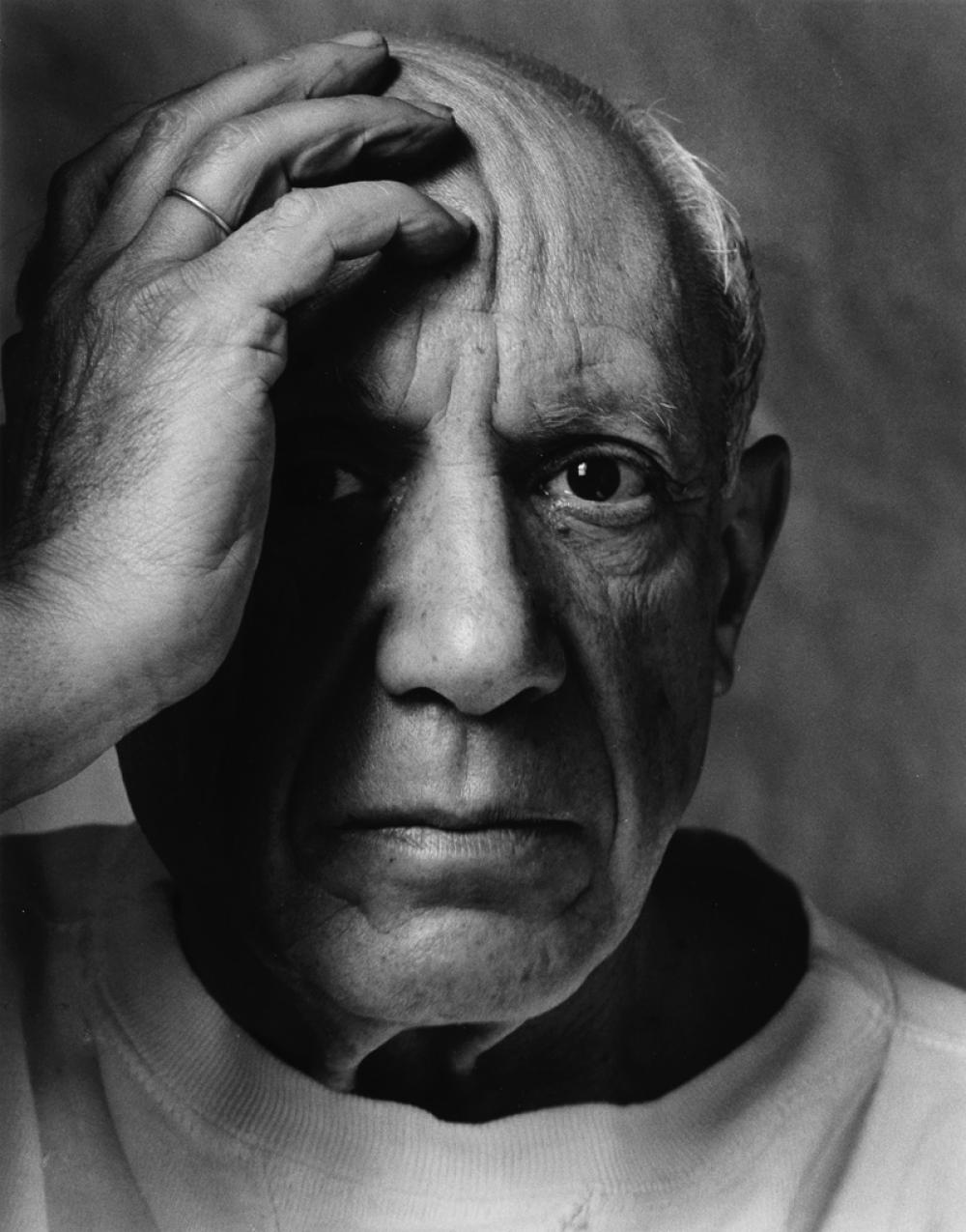 ARNOLD NEWMAN (1918-2006) Picasso.