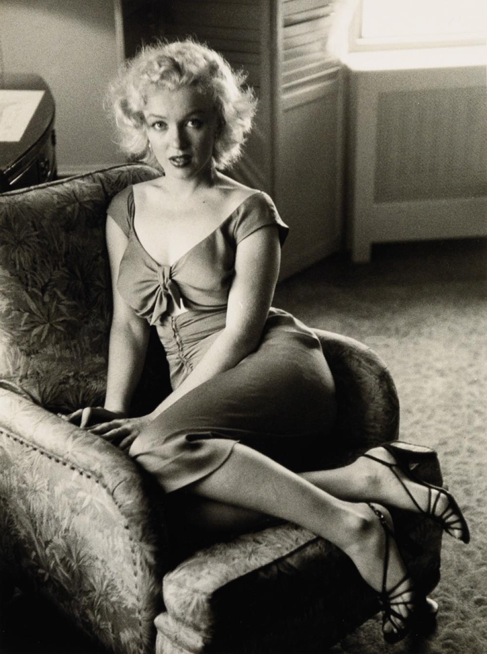 BEN ROSS (1916-2004) Marilyn Monroe, Atlantic City, New Jersey.