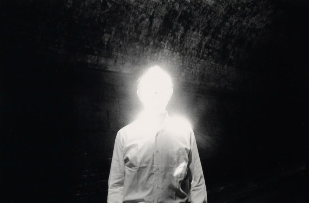 DUANE MICHALS (1932- ) The Illuminated Man.