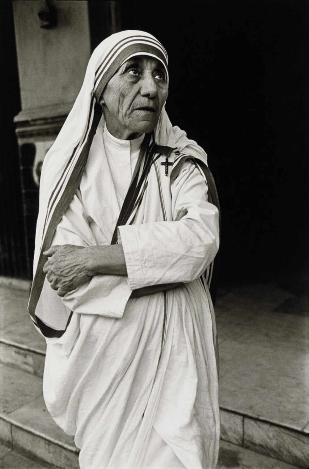 MARY ELLEN MARK (1940-2015) Mother Teresa, Calcutta.
