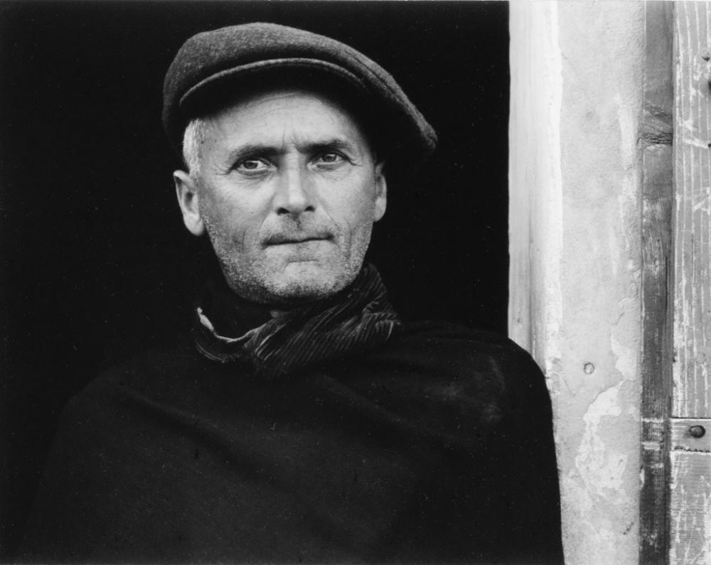 PAUL STRAND (1890-1976) Day Laborer, Luzzara.