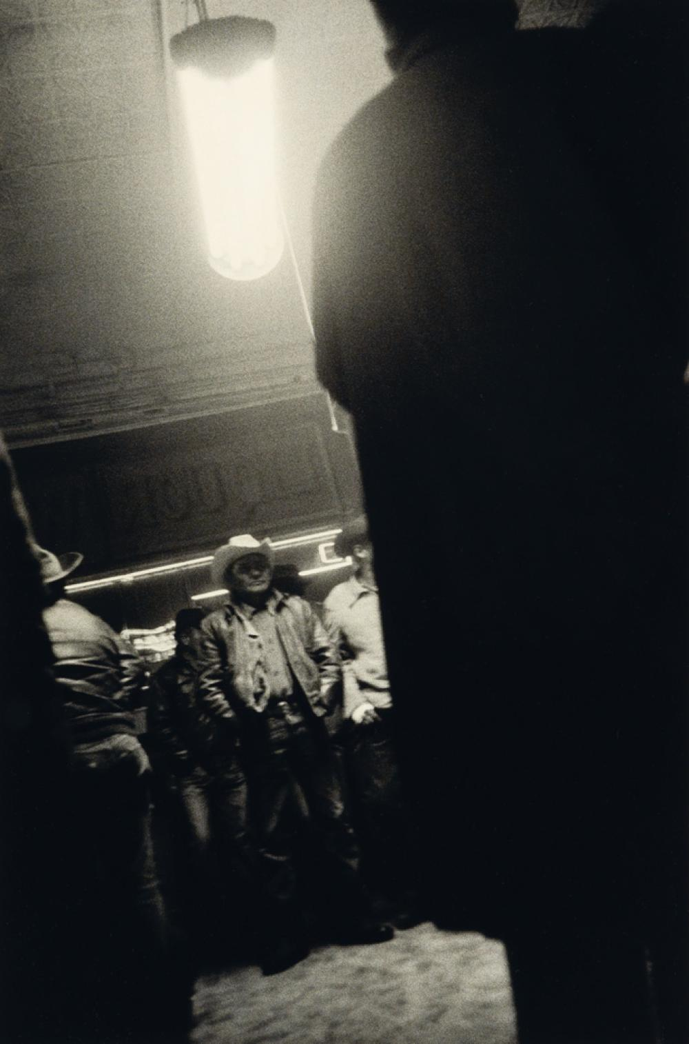 ROBERT FRANK (1924- ) Bar, Gallup, New Mexico.