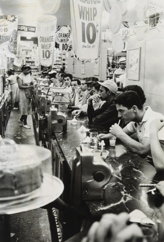 ROBERT FRANK (1924- ) Detroit (drugstore).