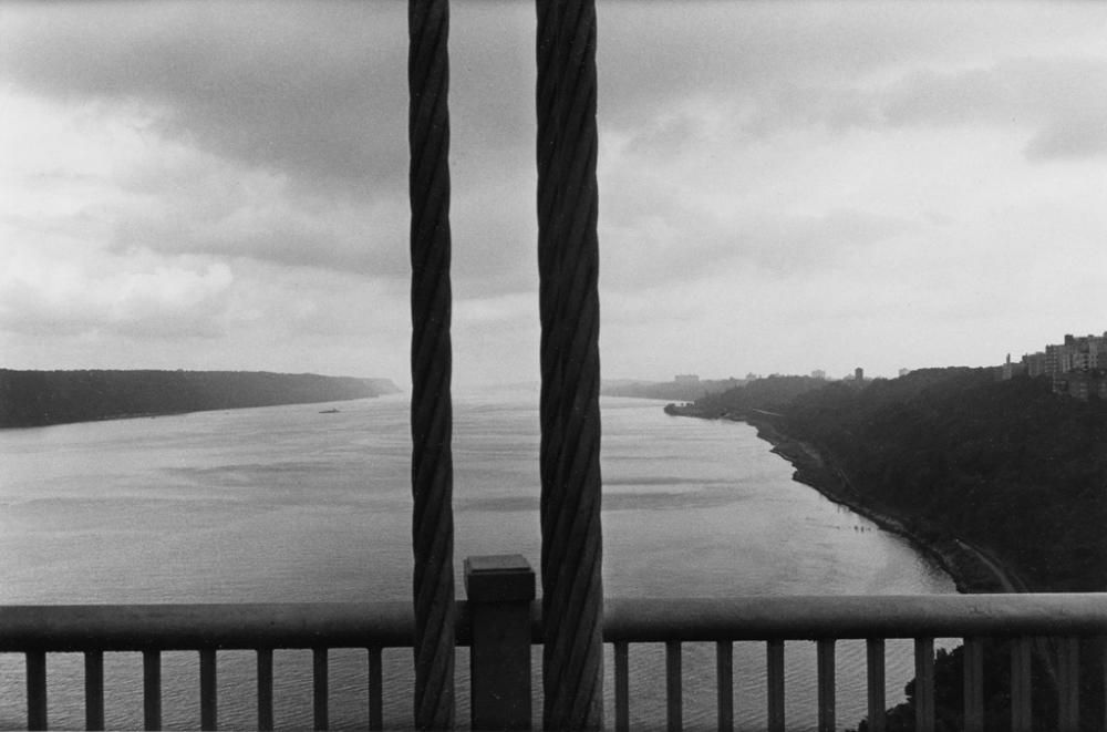 LEE FRIEDLANDER (1934- ) GW Bridge, N.J. [George Washington Bridge].