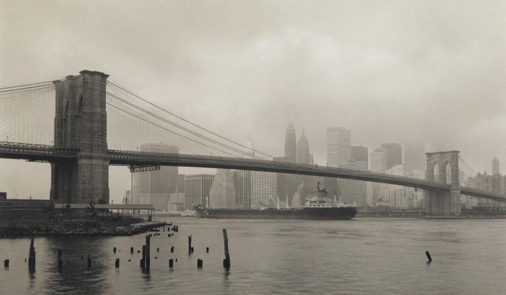 RICHARD BENSON (1943- ) Brooklyn Bridge, NYC.