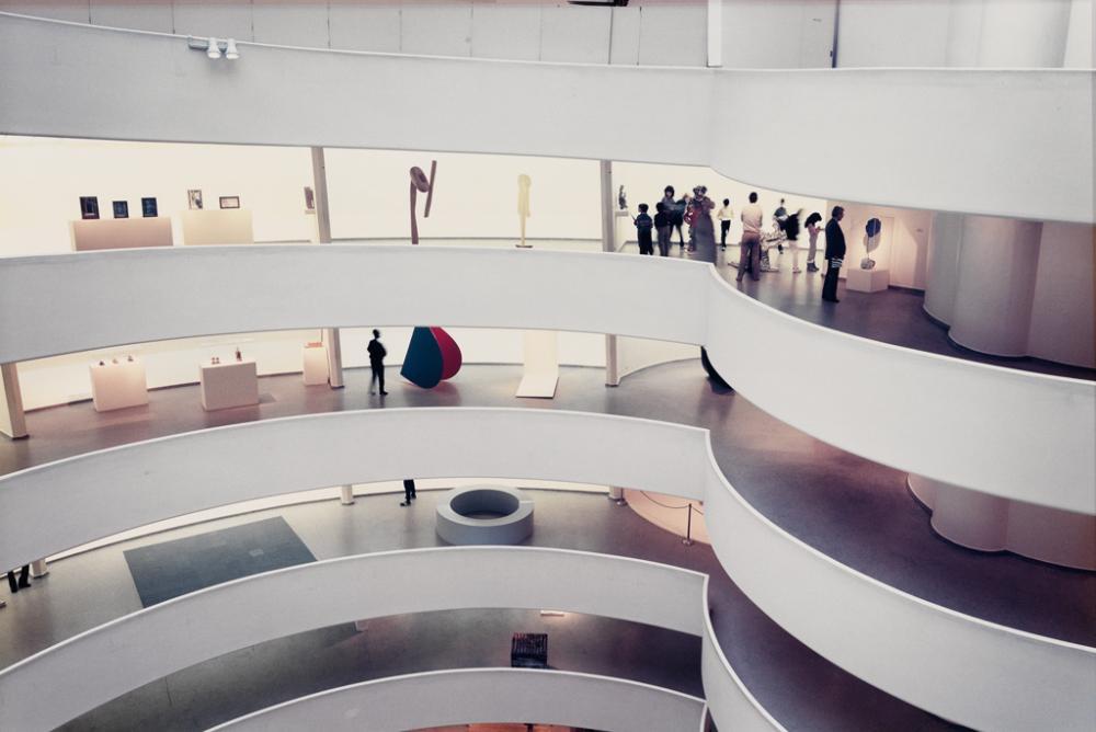 MITCH EPSTEIN (1952- ) Guggenheim Museum.
