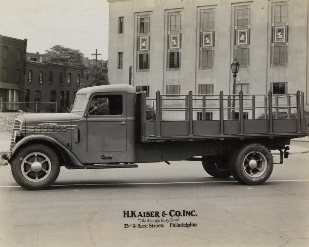 (TRANSPORTATION) A collection of 125 photographs of Barry and Bailey Co.'s and G. Kaiser & Co.'s customized truck bodies in the North