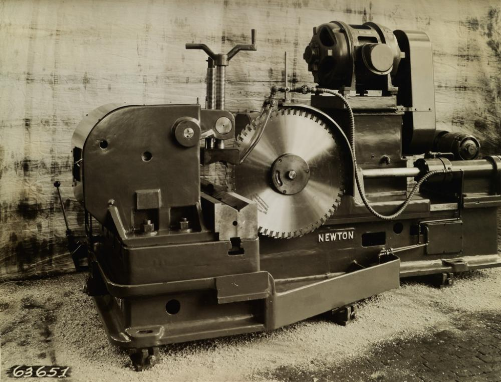 (INDUSTRY) An album with nearly 200 World War II-era photographs related to Newton Machinery.