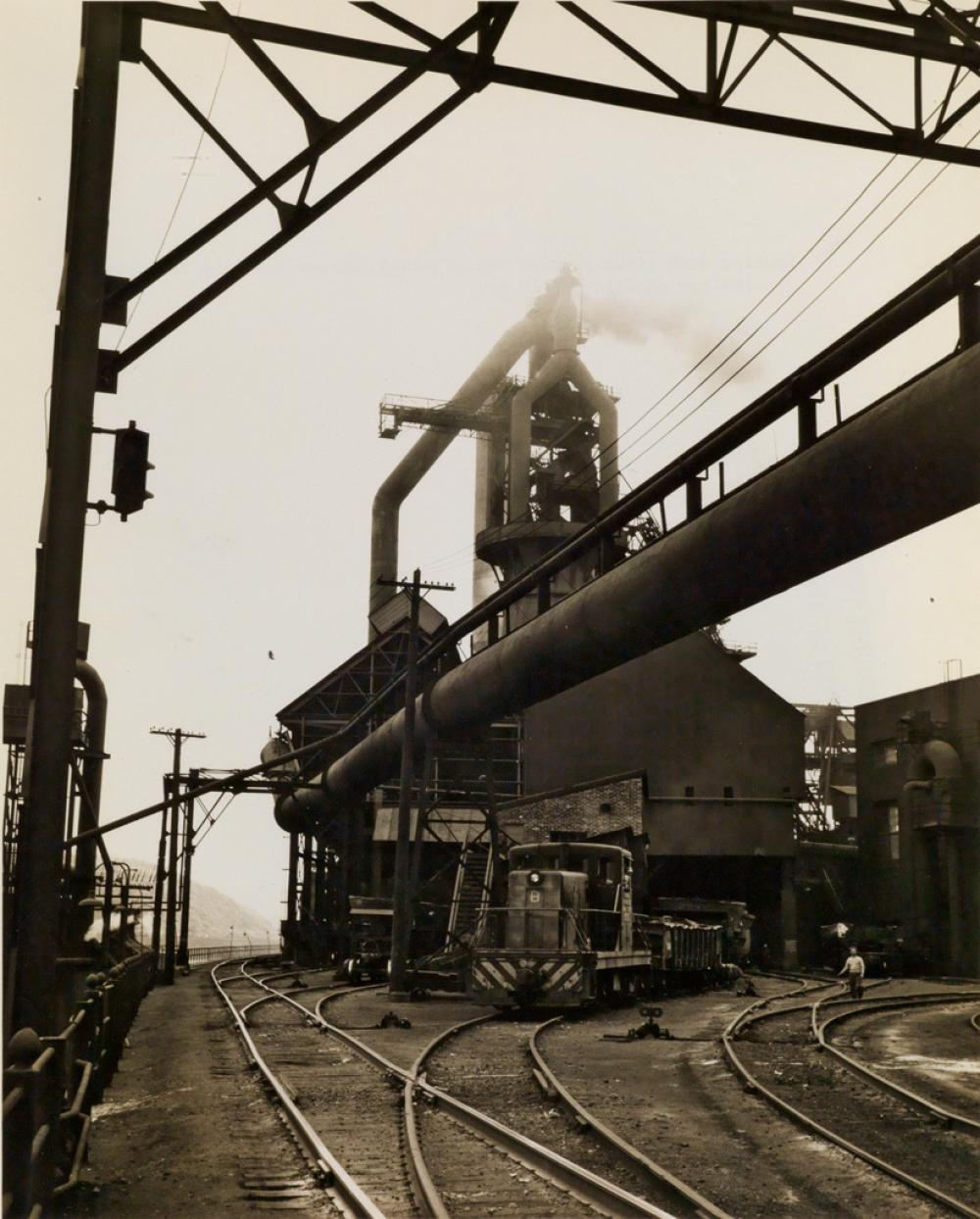 (PITTSBURGH STEEL CO.) An archive of approximately 133 photographs relating to the Pittsburgh Steel Company.