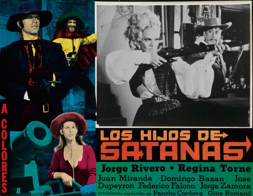 (MEXICAN CINEMA) A graphic collection of 67 exciting lobby cards for Mexican B-movies.