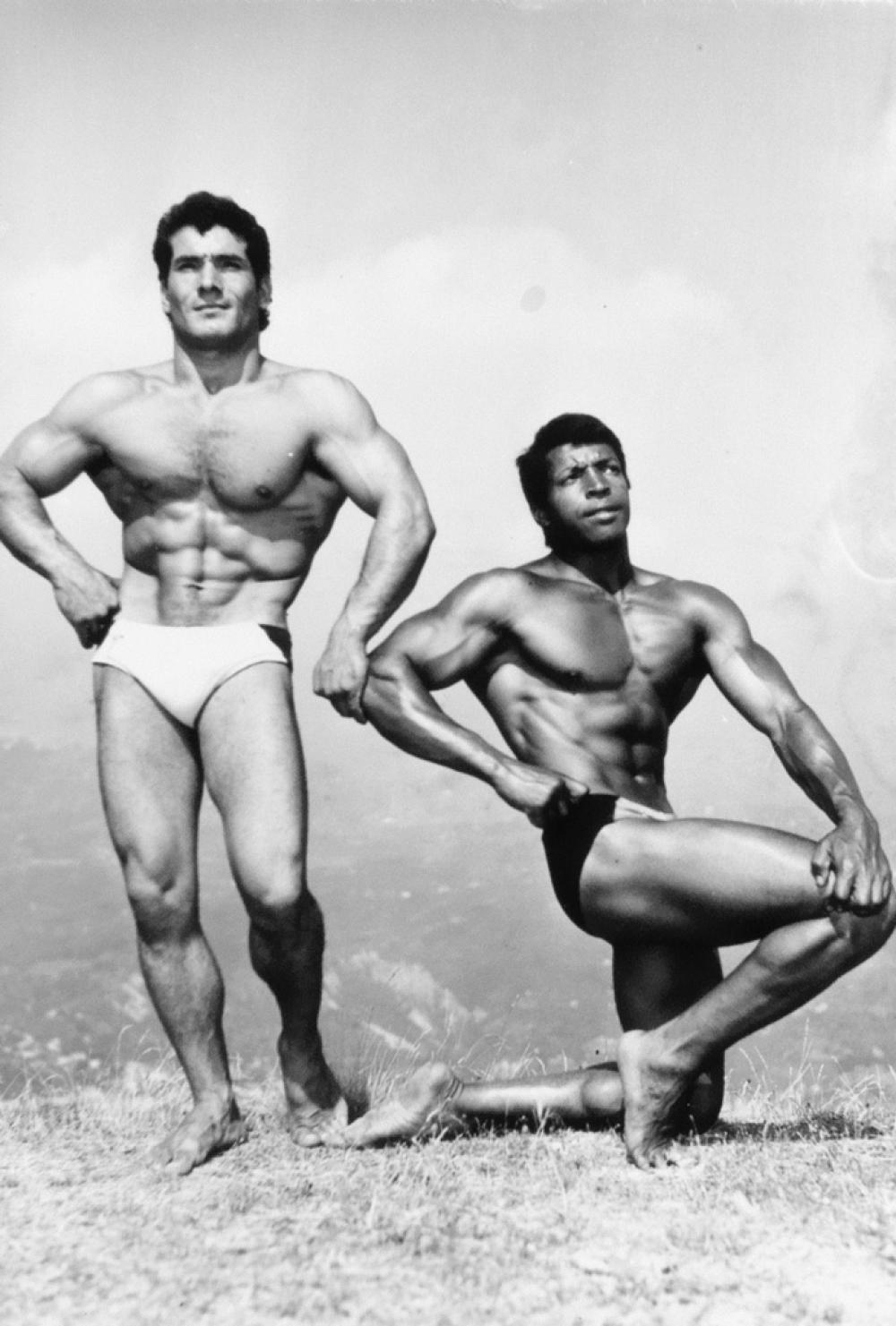 (BODYBUILDING) A group of 50 nude physique photographs by the Jean Ferrero studio.