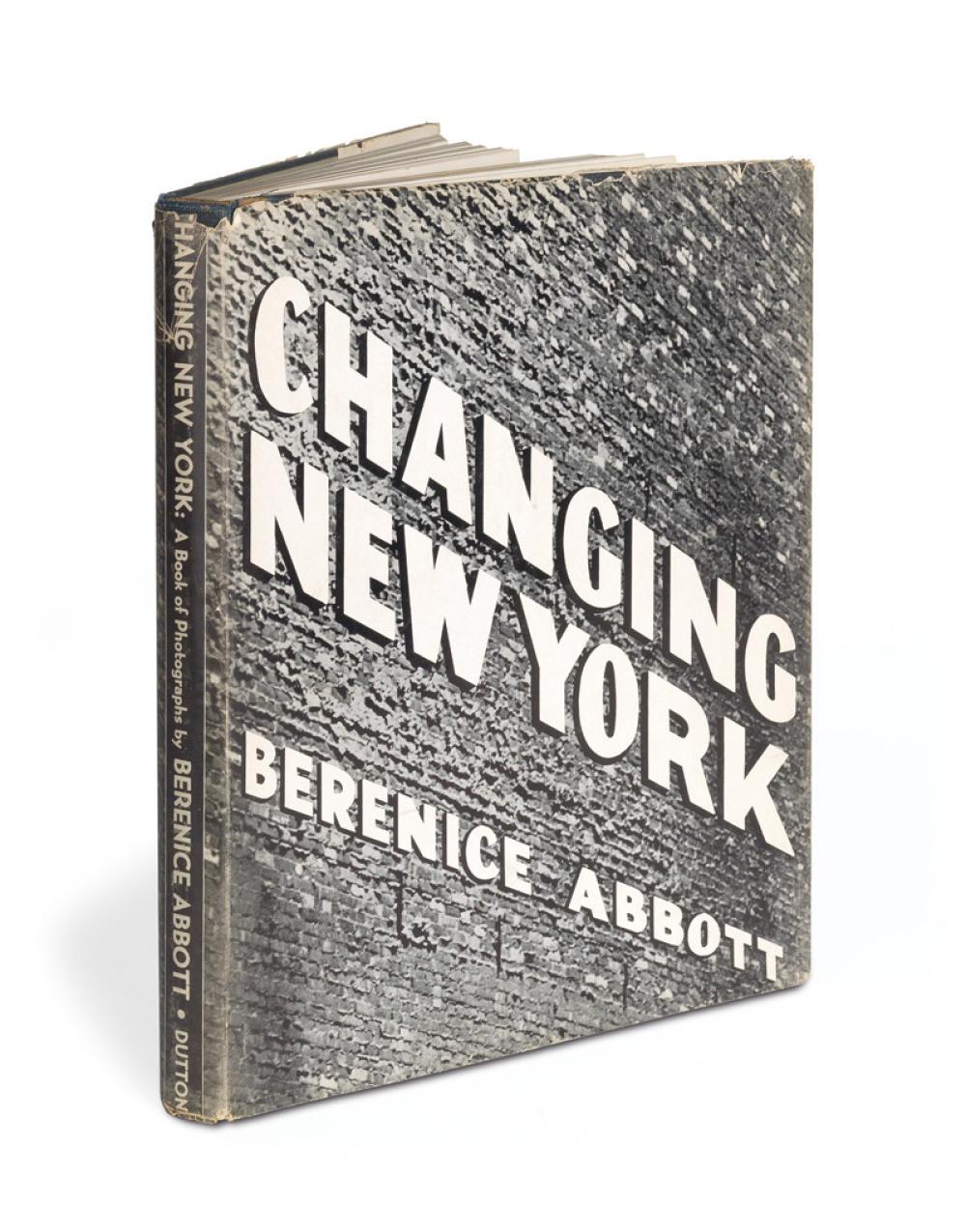 BERENICE ABBOTT. Changing New York.