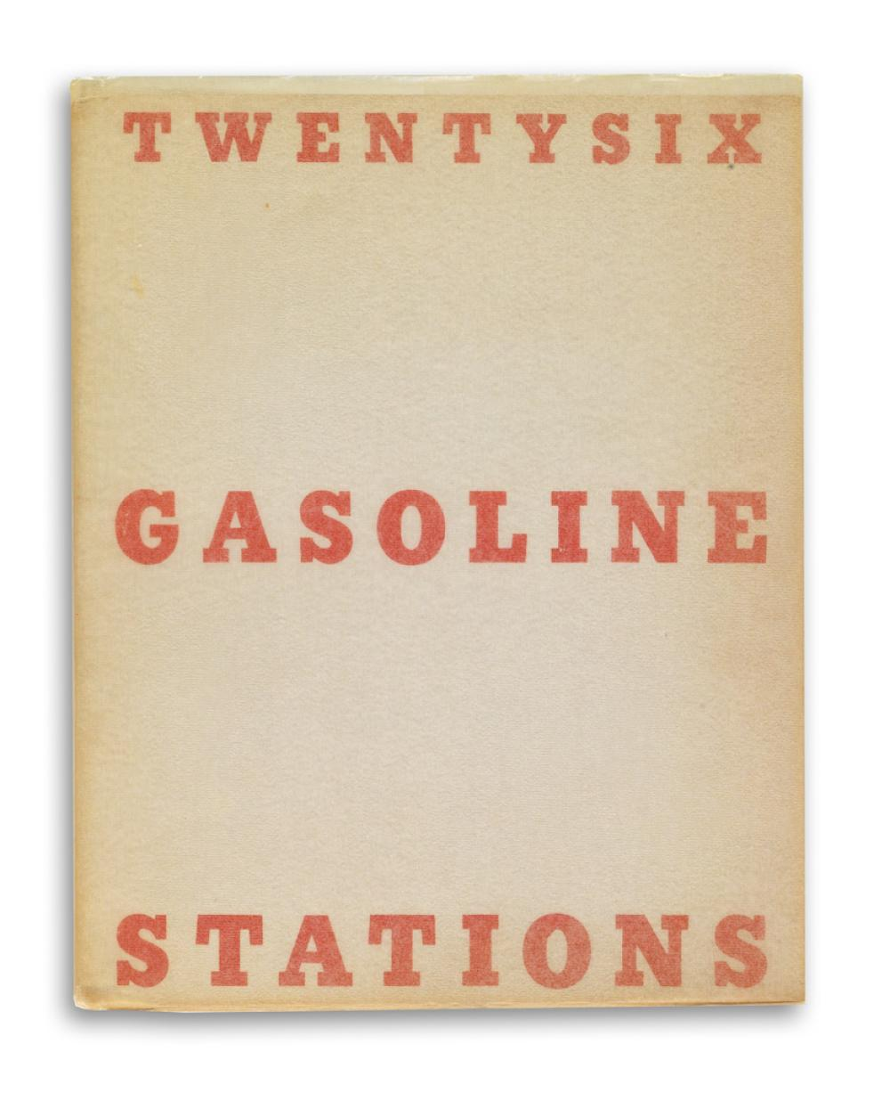 EDWARD RUSCHA. A set of 14 titles from Ruscha, a pioneer of the photo book as artistic medium.