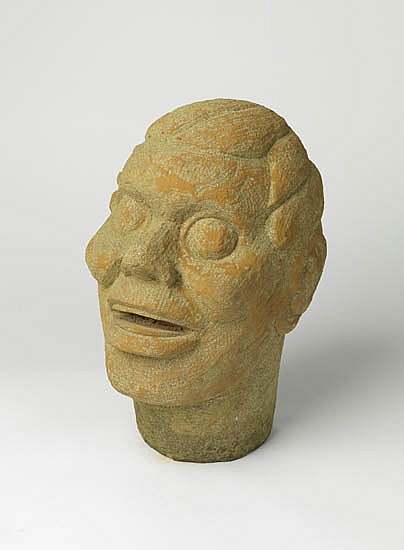 SELMA BURKE (1900 - 1995) Untitled (Head of Asadata Dafora).