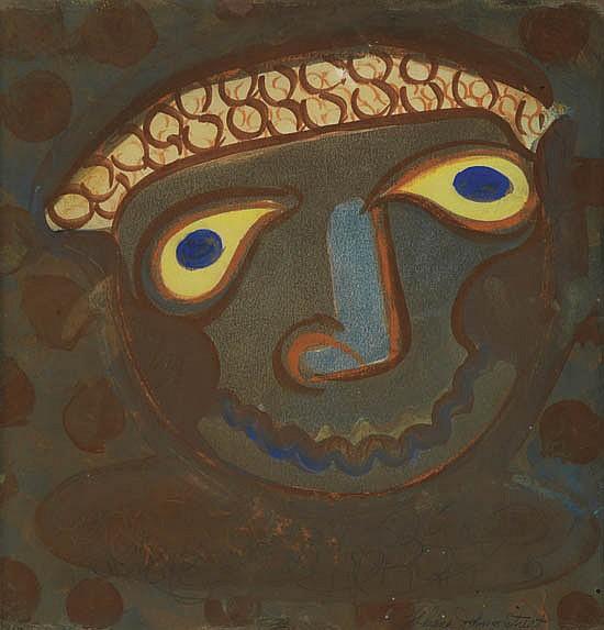 THELMA JOHNSON STREAT (1911 - 1959) Mask.