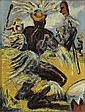 CLAUDE CLARK (1915 - 2001) Ritual Dance., Claude Clark, Click for value