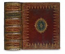 BIBLE IN ENGLISH.  The Holy Bible. 1755.  Bound with The Book of Common Prayer and A Brief Concordance in contemporary red morocco.