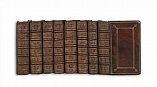 BIBLE IN LATIN.  Biblia Sacra, Vulgatae Editionis . . . jussu cleri Gallicani.  8 vols.  1652