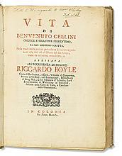 CELLINI, BENVENUTO. Vita . . . da lui medesimo scritta.  1728