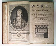CHAUCER, GEOFFREY. The Works.  1721
