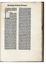 COLONNA, GUIDO. Historia Trojana.  1489