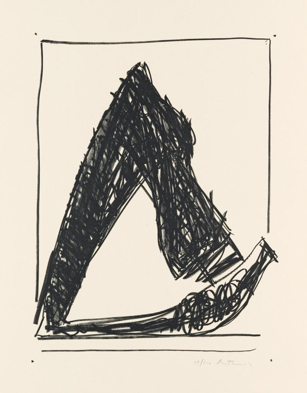 ROBERT MOTHERWELL Summer Time in Italy (with Crayon).