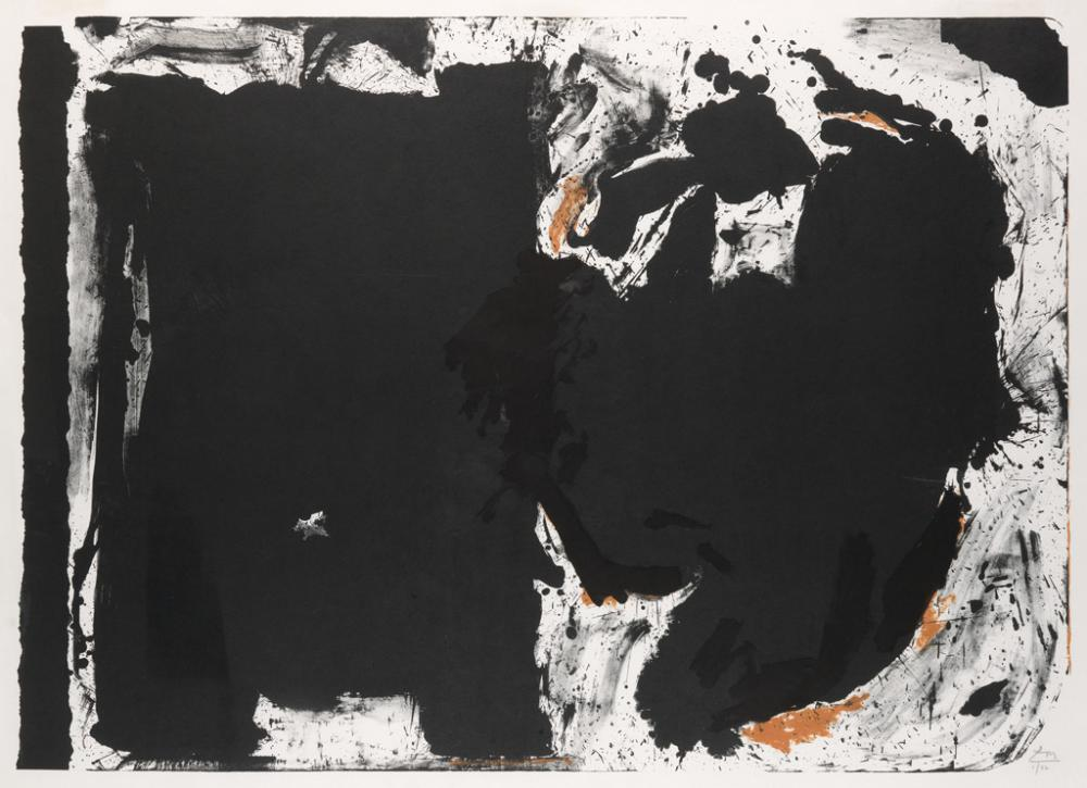 ROBERT MOTHERWELL Lament for Lorca.