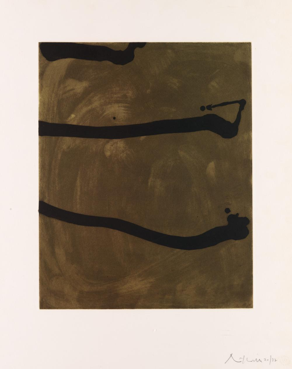 ROBERT MOTHERWELL Untitled.