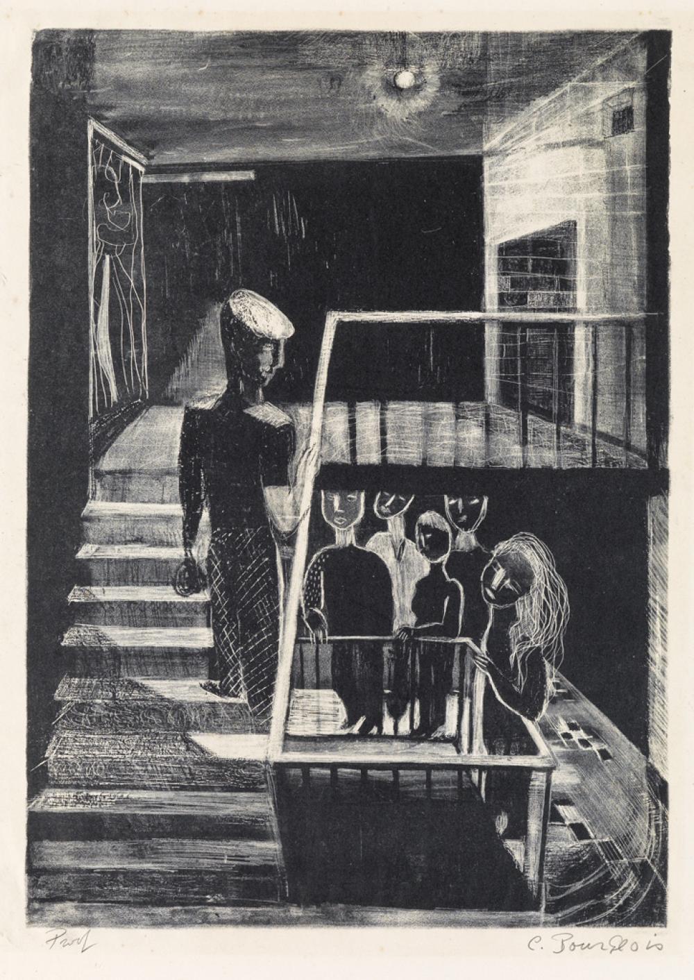 LOUISE BOURGEOIS Escalier de 63.