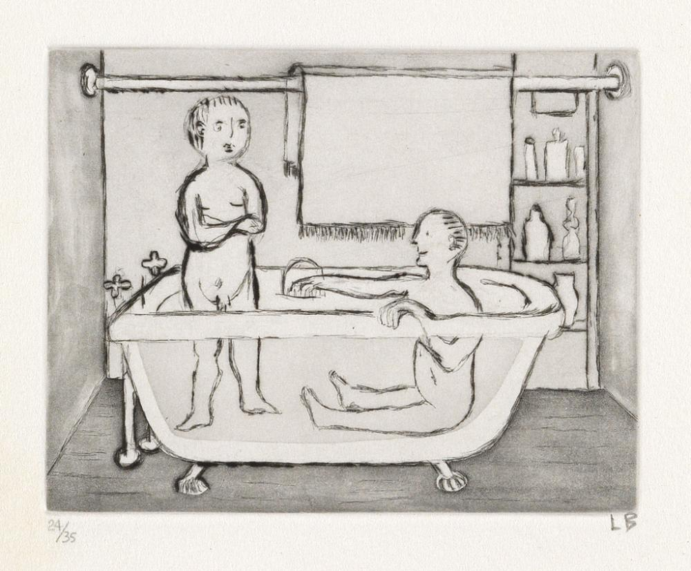 LOUISE BOURGEOIS Children in Tub.