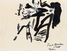 PAUL BURLIN Two drawings.