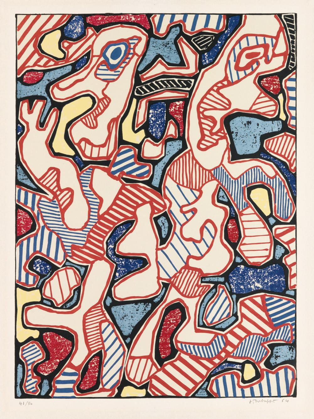 JEAN DUBUFFET Affairements.