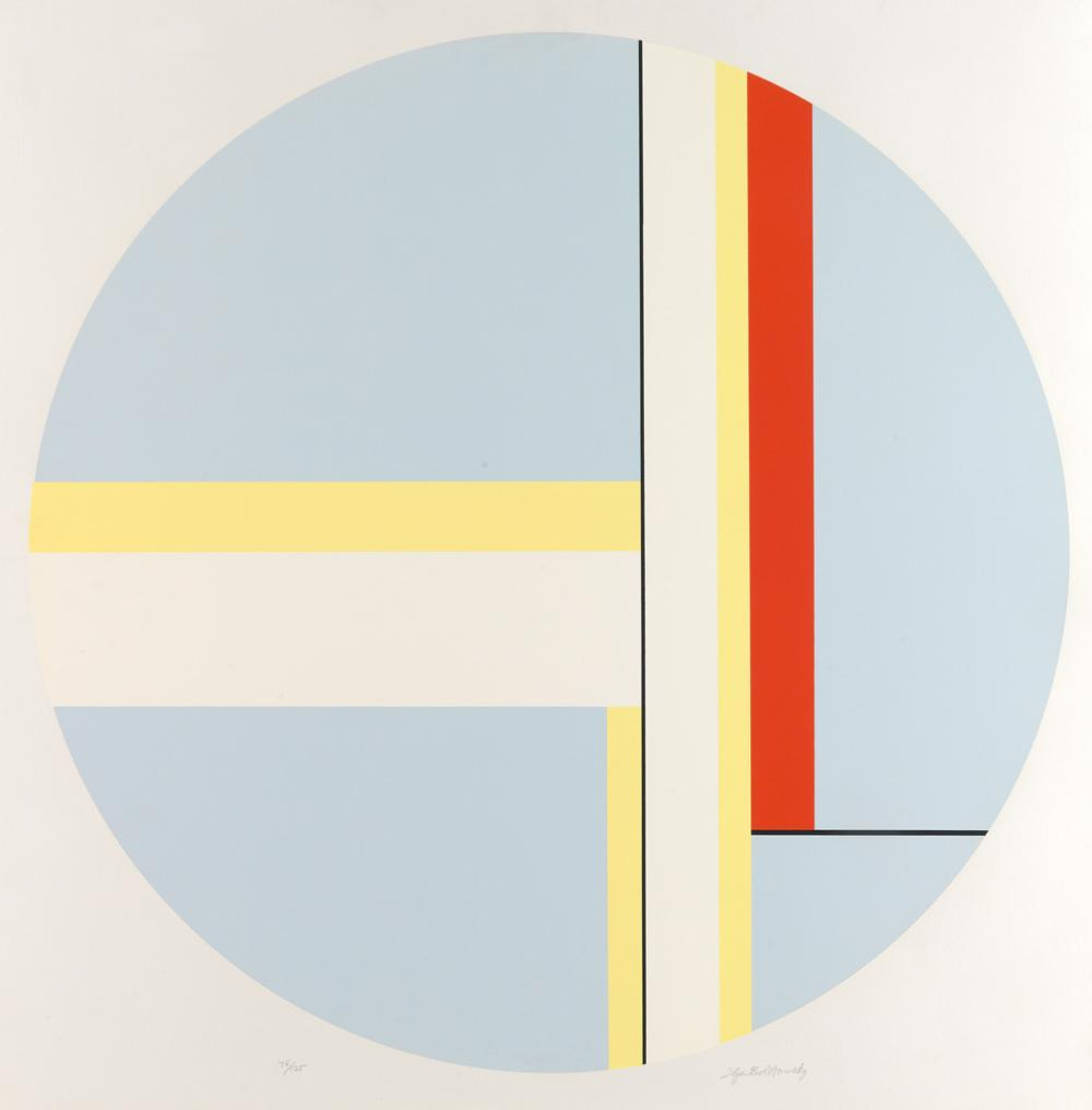 ILYA BOLOTOWSKY Two color screenprints.