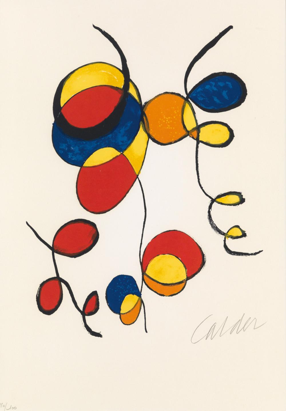 ALEXANDER CALDER Ballons et Cerfs Volants.