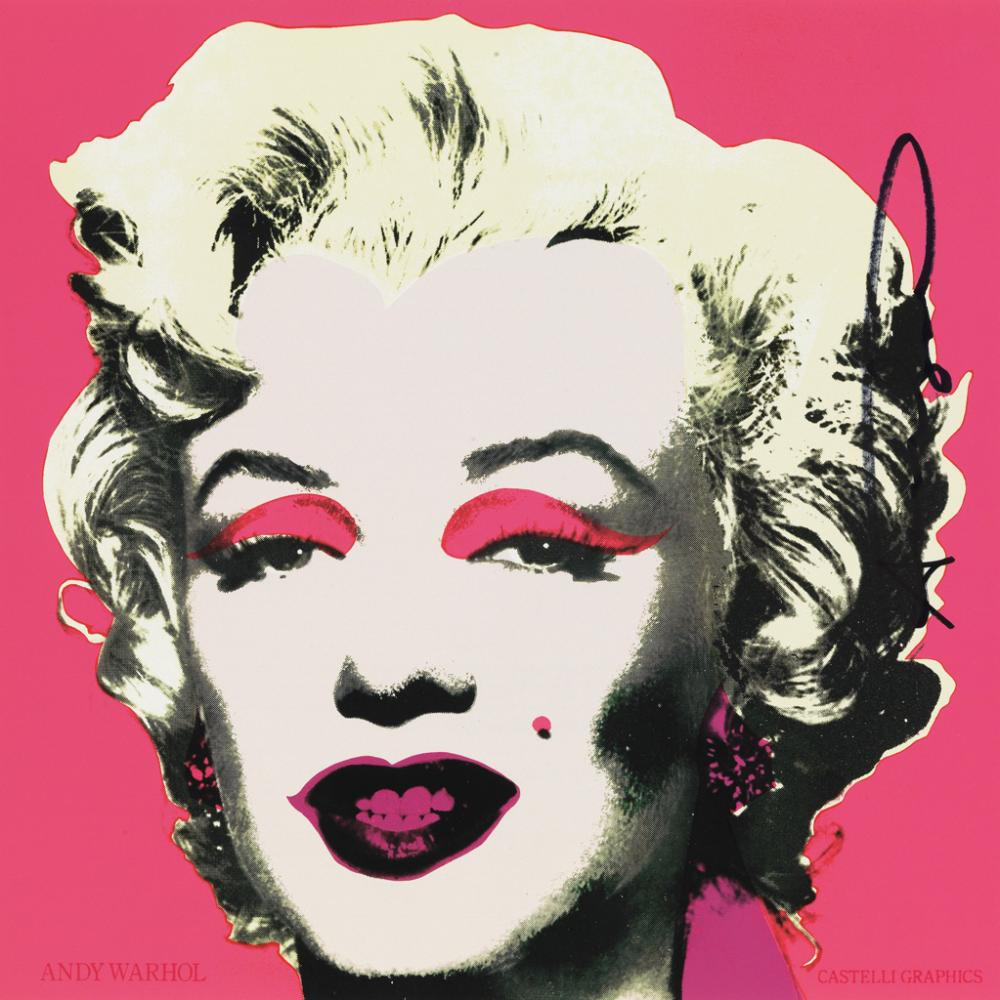 ANDY WARHOL Marilyn (Announcement).