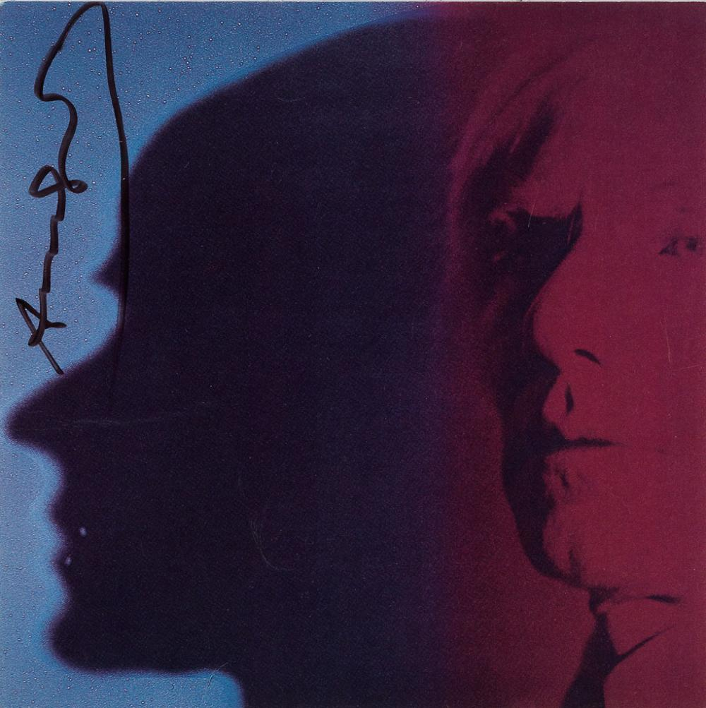 ANDY WARHOL (after) Myths: The Shadow (Announcement)