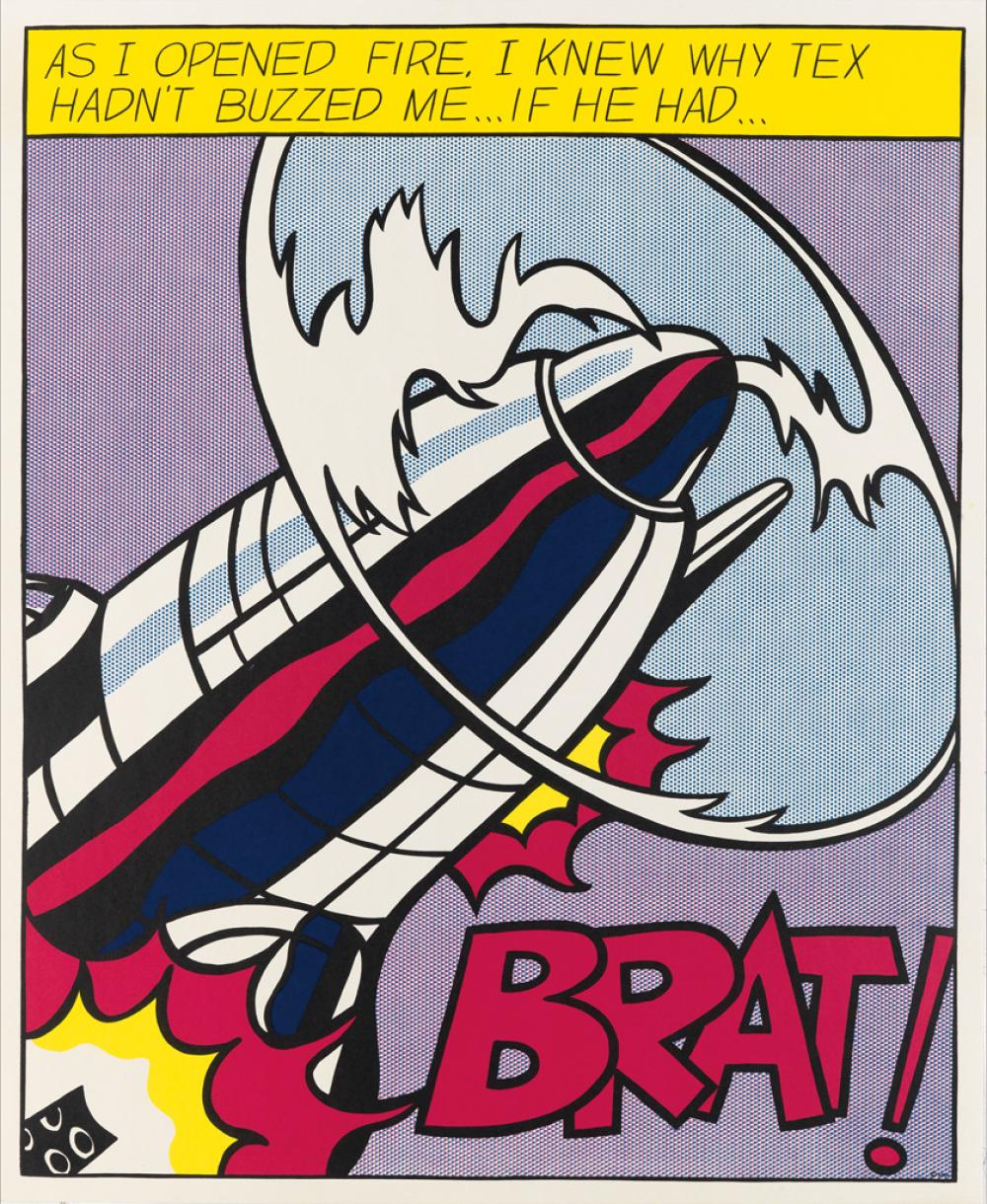 ROY LICHTENSTEIN As I Opened Fire.