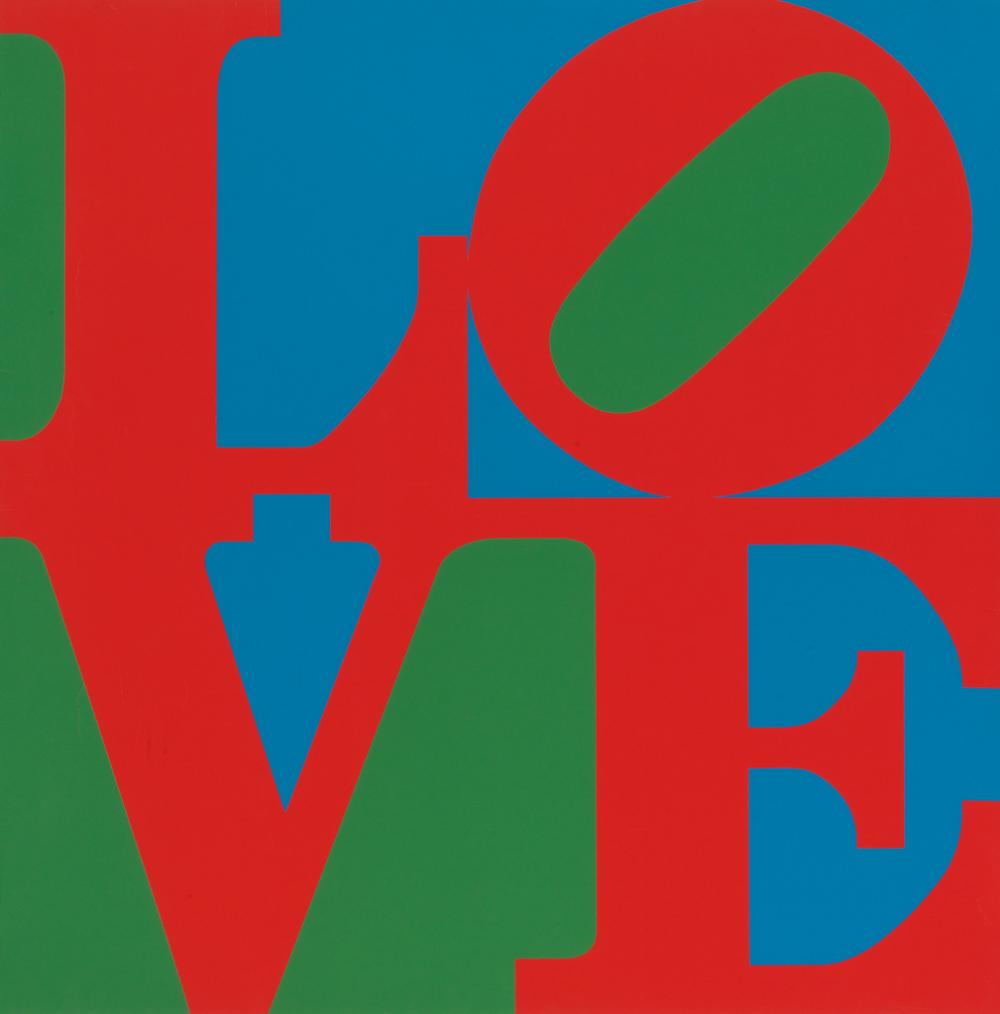 ROBERT INDIANA Love.