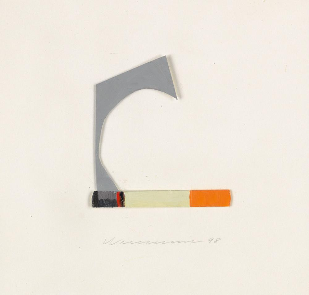 TOM WESSELMANN Smoking Cigarette.