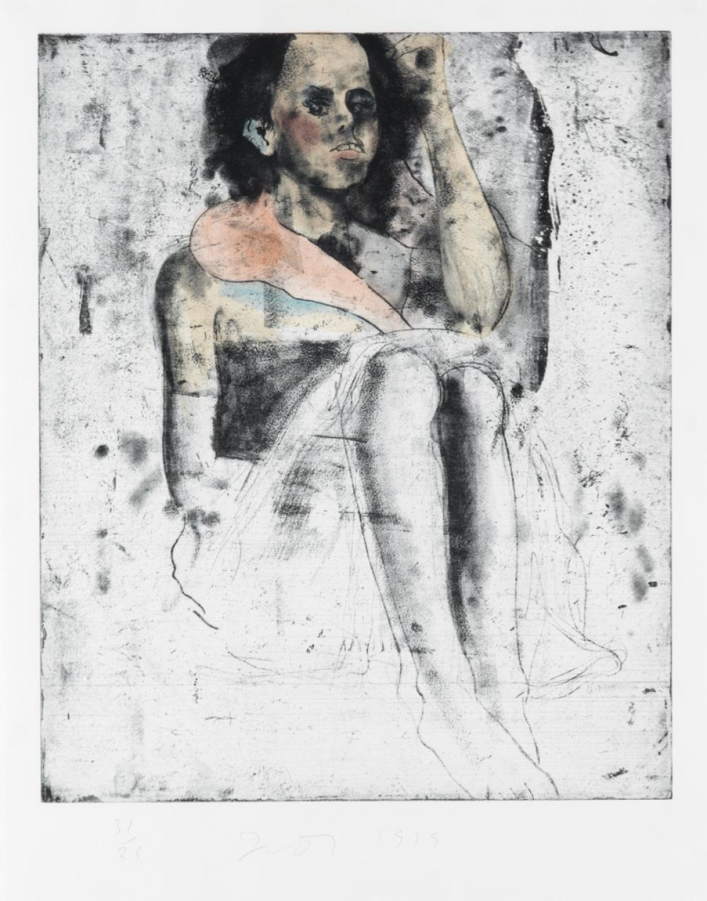 JIM DINE A Little Girl.