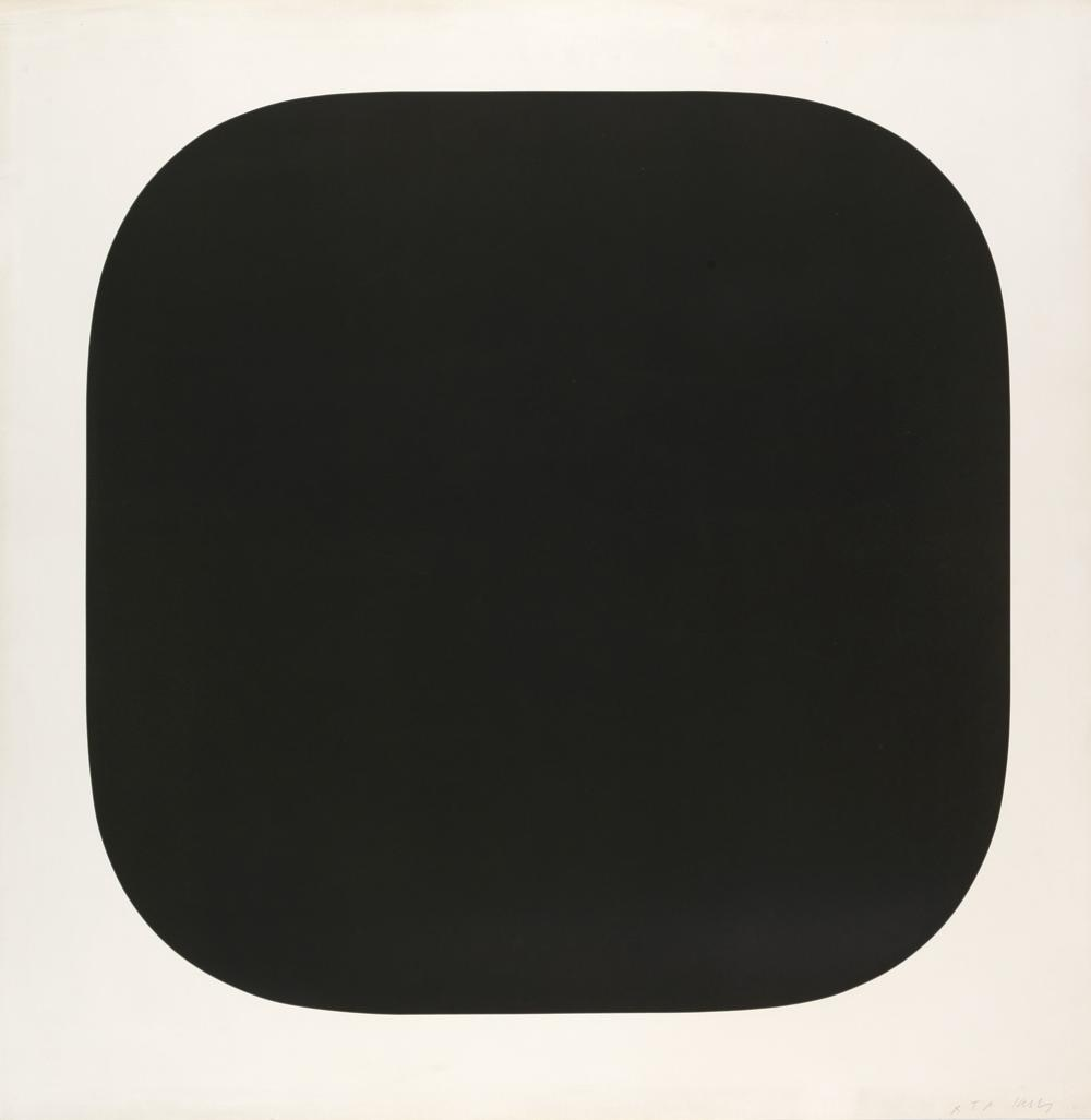 ELLSWORTH KELLY Black Variation IV.