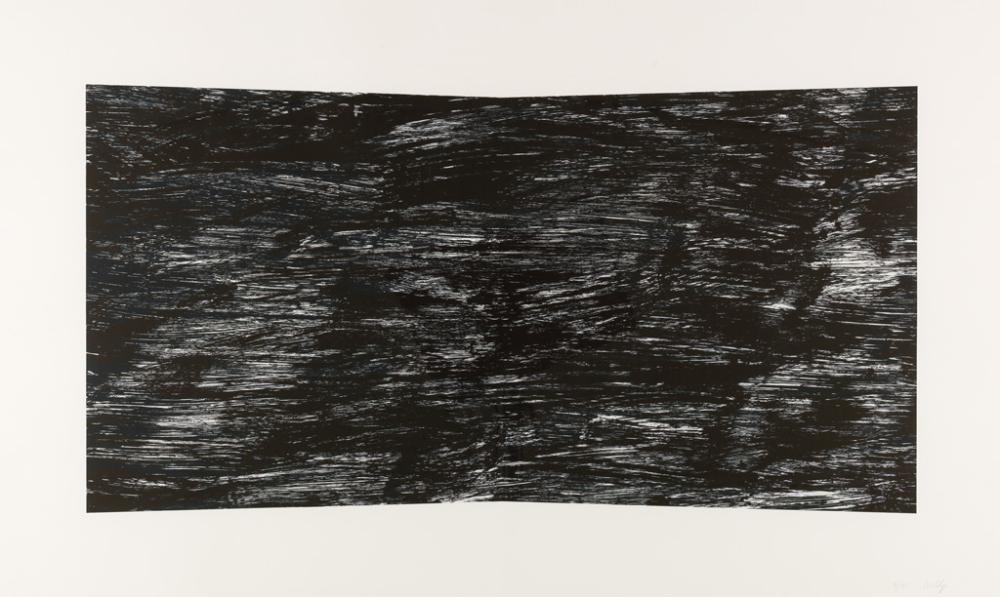 ELLSWORTH KELLY Black (Texture).