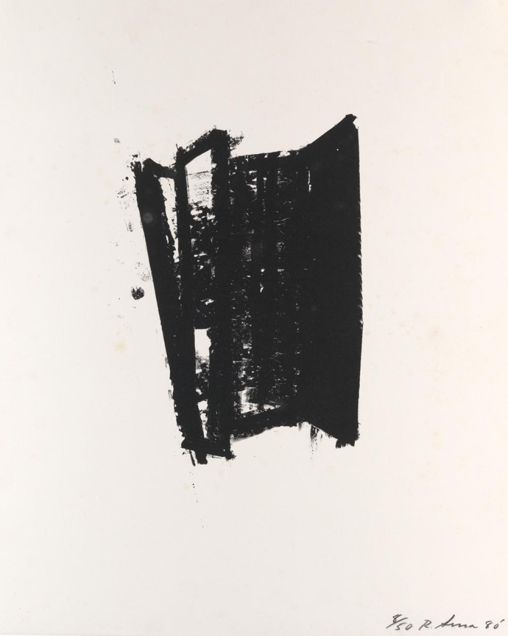 RICHARD SERRA Sketch #3.
