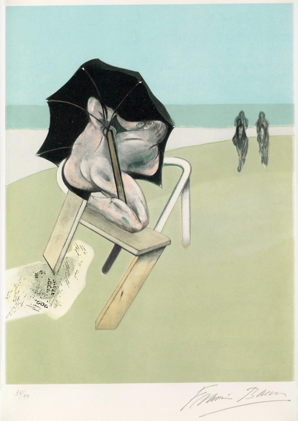 FRANCIS BACON Triptych.