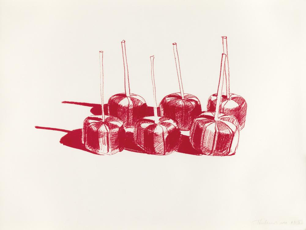 WAYNE THIEBAUD Suckers, State II.