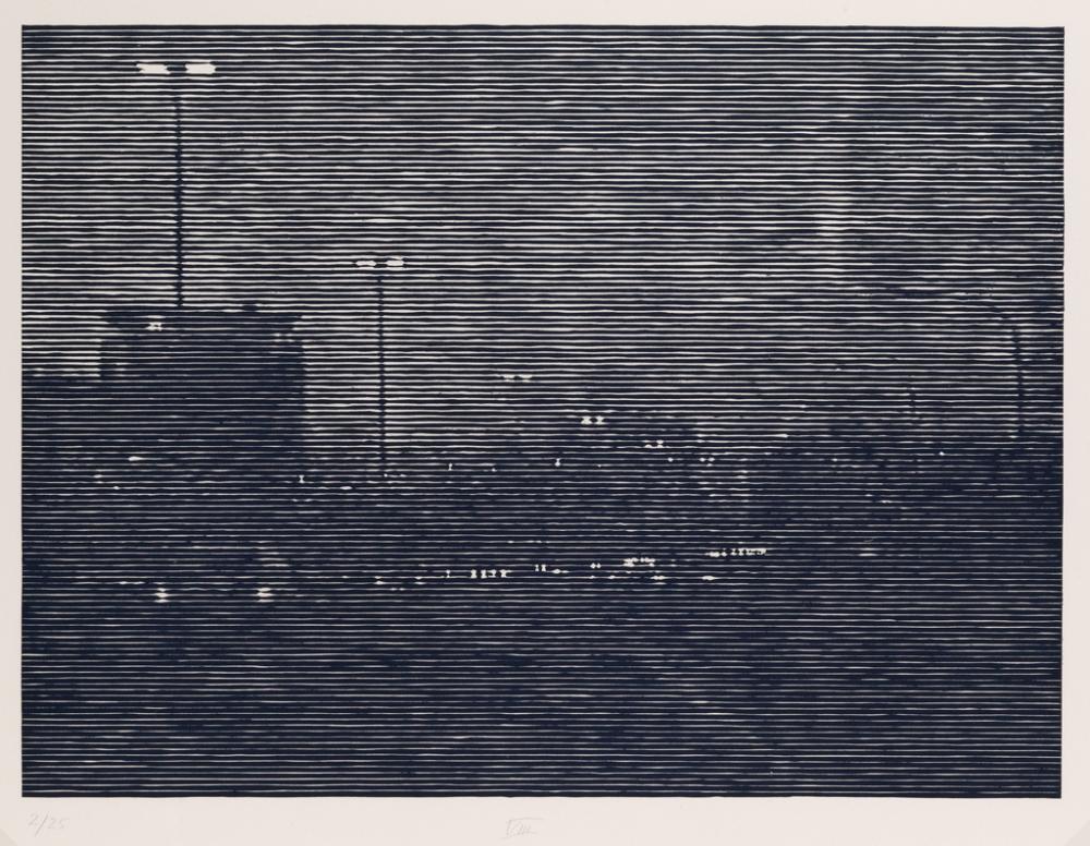 CHRISTIANE BAUMGARTNER Nachtfahrt I – IX.
